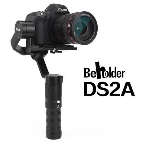 Beholder DS2A 32bit 3axis Handheld Stabilizer 360 Endless Oblique Arm version Camera Gimbal for DSLR Cameras VS DS1