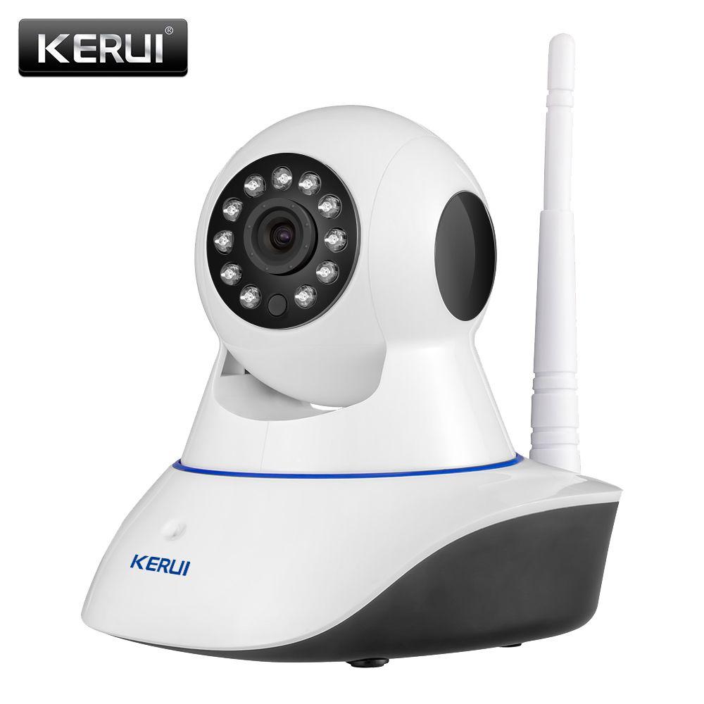 KERUI 720P 1080P HD Wifi Беспроводной дома безопасности IP Камера безопасности сети видеонаблюдения Камеры Скрытого видеонаблюдения ИК Ночное видени...