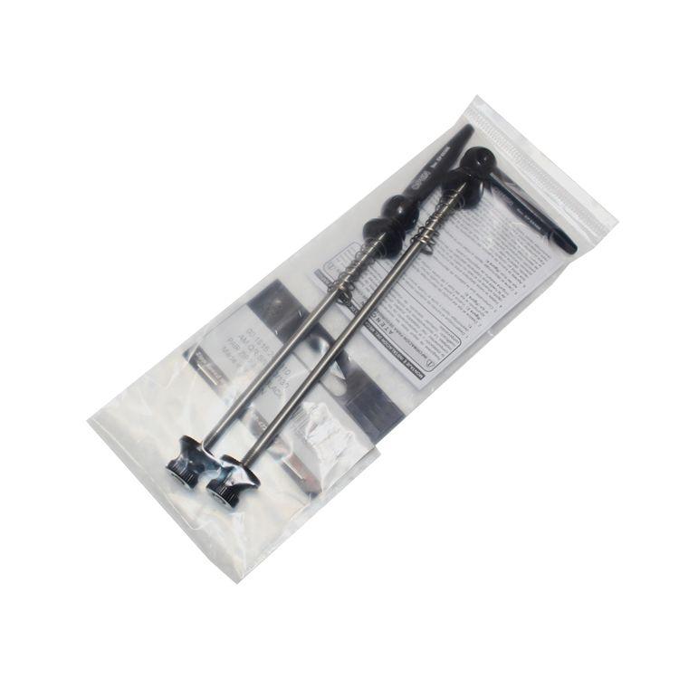 1 par titane Ti brochettes 100mm/130mm vtt VTT vélo lumière de vélo à dégagement rapide 48g /par nouveau noir