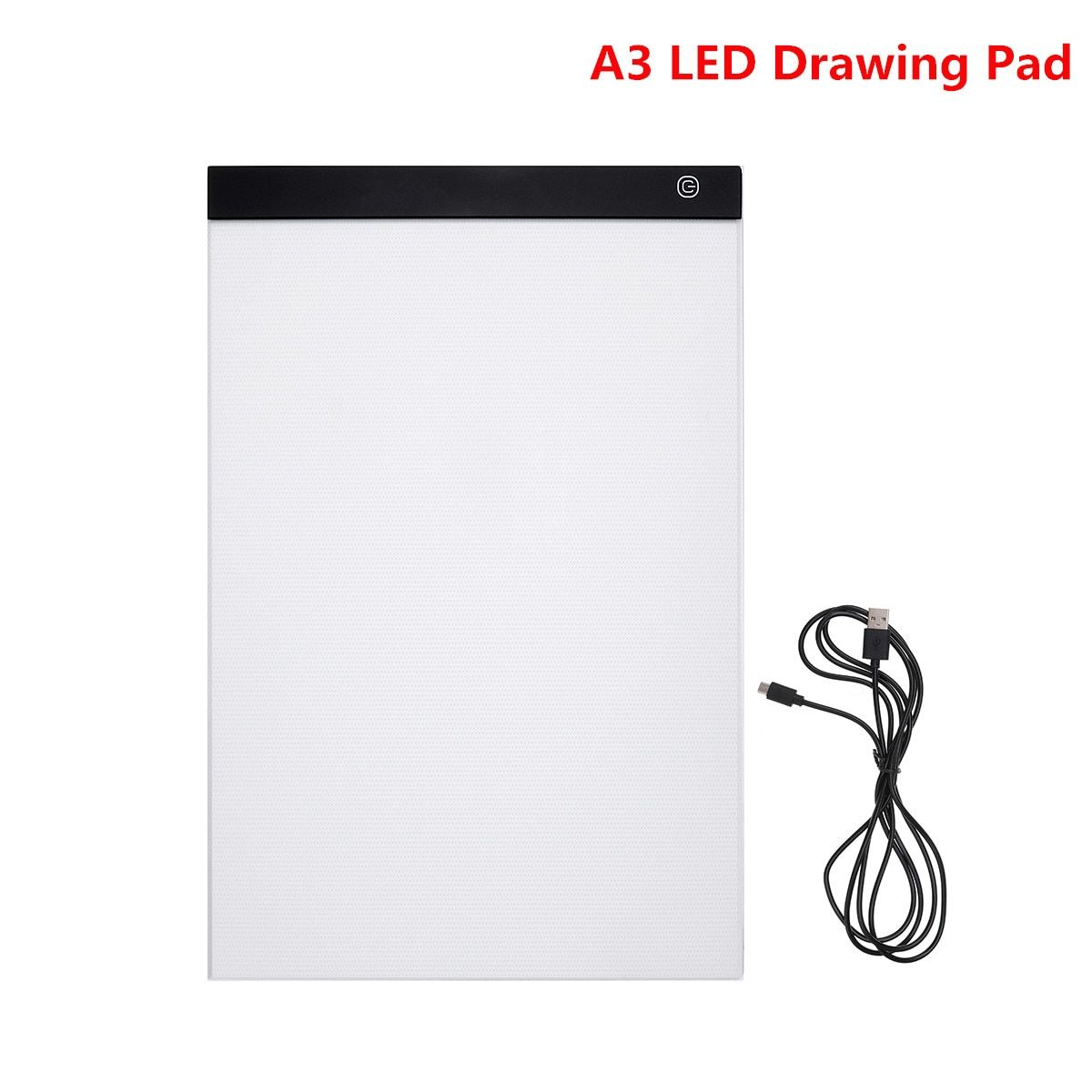 Tablet Drawing Pad A3 LED Drawing Pad Box Board Drawing Tracing Tracer Copy Board Table Pad Led Light Pad Copy Board Stencil