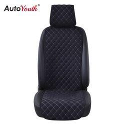 AUTOYOUTH модная Автомобильная подушка для сидения универсальная Nano хлопковая бархатная ткань чехол для автомобиля подходит для большинства а...