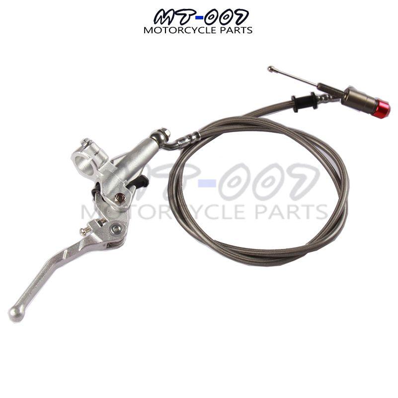 1200MM 200CC Dirt Bike Aluminum Hydraulic Clutch Lever Master Cylinder For Pit Dirt Bike ATV 150 250 SSR KLX SDG CRF TTR
