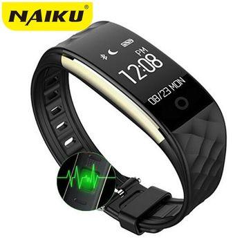Naiku S2 Спорт Смарт запястье браслет монитор сердечного ритма IP67 Водонепроницаемый Bluetooth Smartband для iphone Android NK2