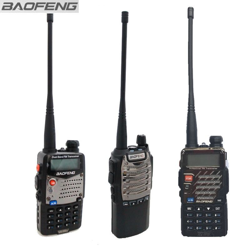 Baofeng UV-5R series Walkie Talkie Black UV-8D Ham Amateur Radios Two Way Radio No box packing Low cost For Promotion