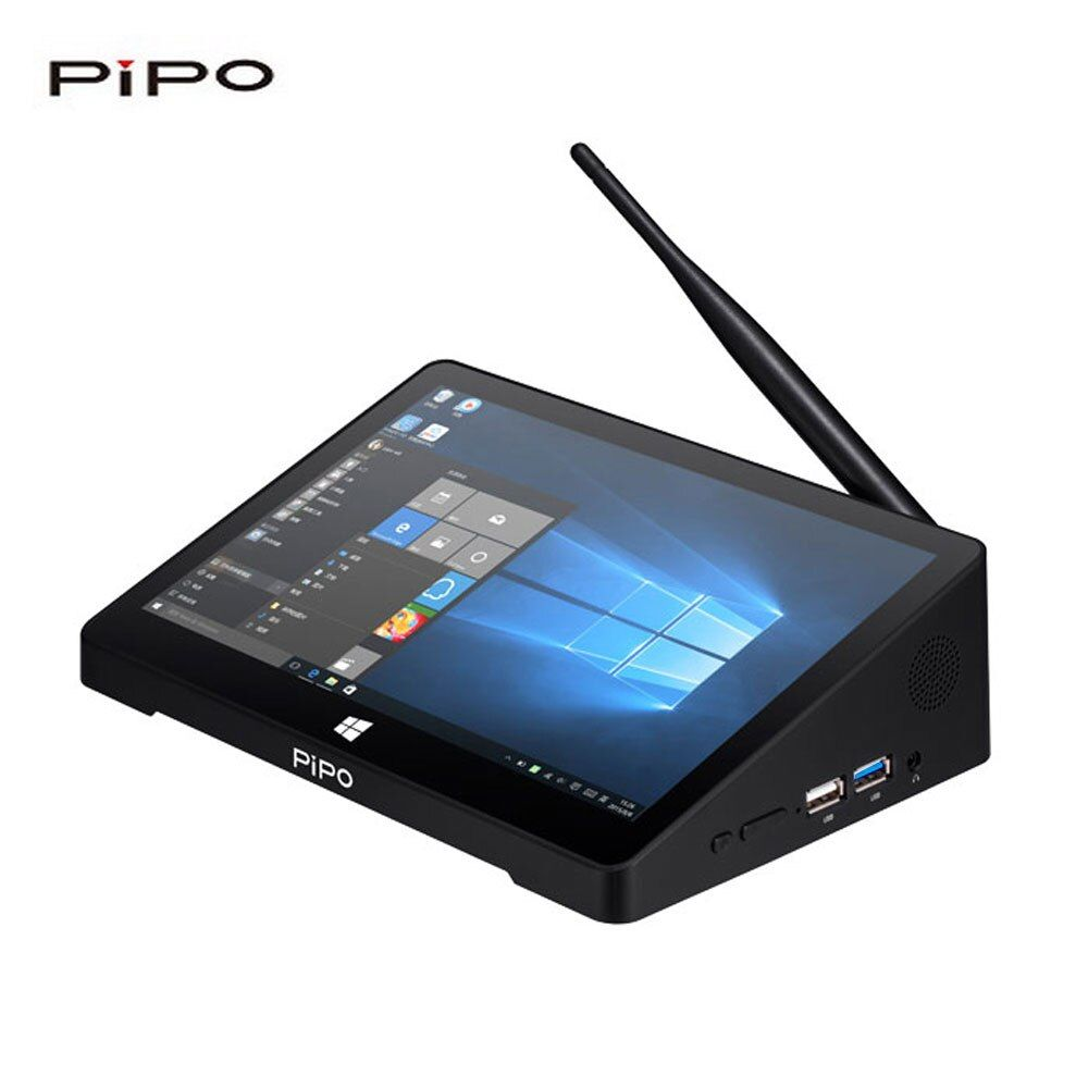 PiPO X8PRO Mini PC Dual OS Smart TV Box 64 Bits 2GB/32GB Bluetooth 4.0 WiFi 100M LAN 1080P HD Media Player IPS Touch Screen PC