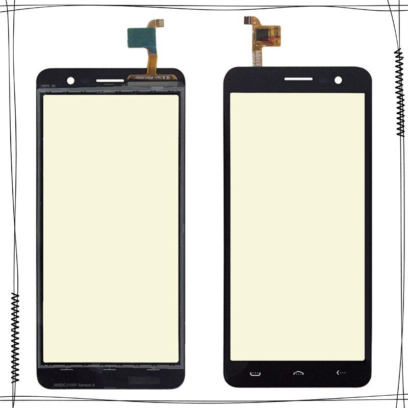 For HOMTOM S12 Sensor Touch Screen Moible Phone Touch Panel For HOMTOM S12 Front Glass Lens Touchscreen Touchpad