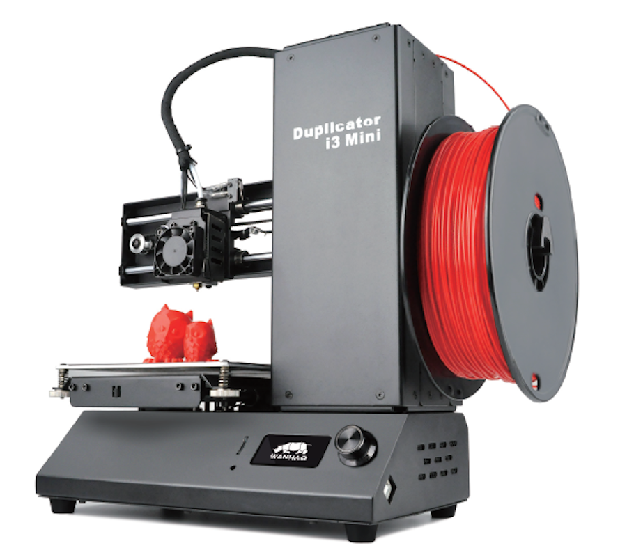 New 2018 Wanhao printer i3 Mini - a great gift for a school boy or a student (just 3D printer, not include PLA)