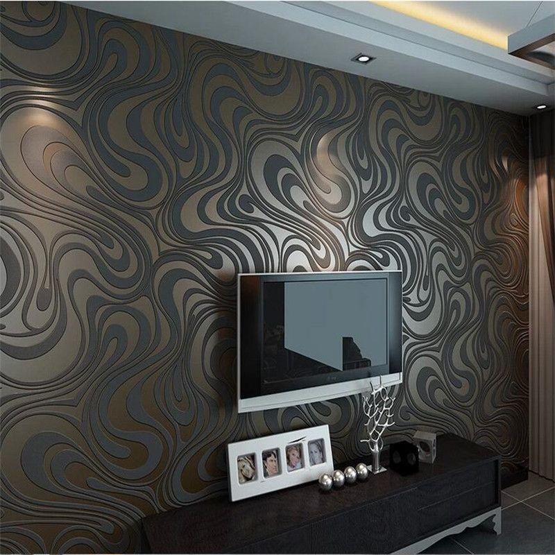 0.7m*8.4m wallpaper rolls Papel de parede Sprinkle gold murals damask wall paper roll modern  stereo  3D  mural wall paper roll