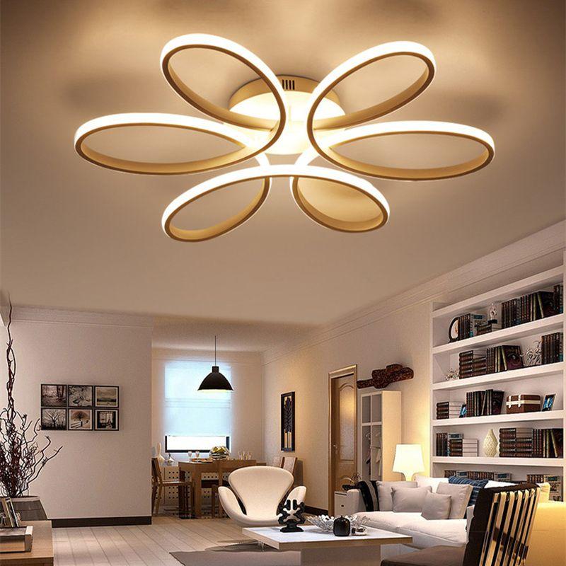 2018 Modern led chandelier ring chandelier For living room Chandeliers lustre luminaria chandelier decoration