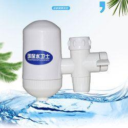 Portátil filtro de cerámica filtro de grifo purificador de agua, filtro de agua alcalina ionizador de agua elimina 99% contaminantes
