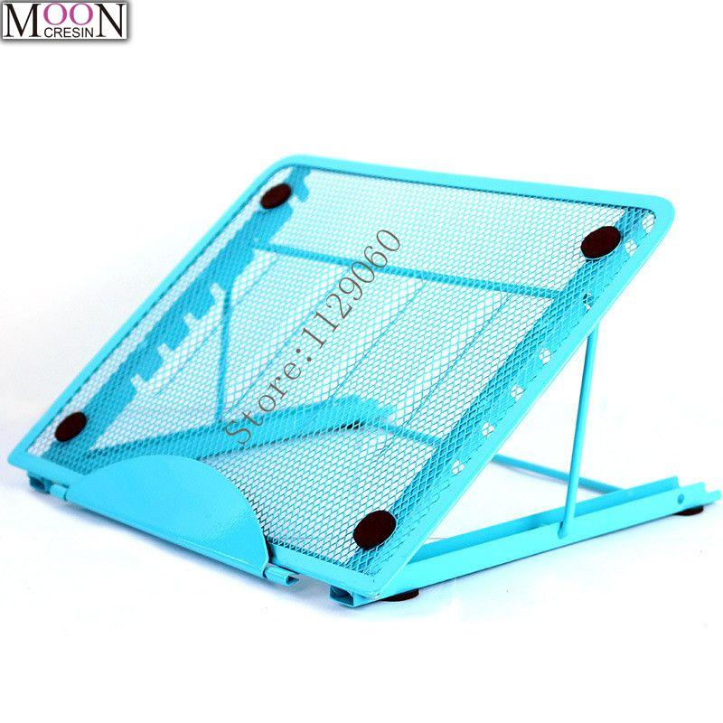 5D bricolage couleur métal Stander pour a-lumière LED Pad boîte tablette conseil diamant peinture conception particulière multi-angle réglage cadeaux