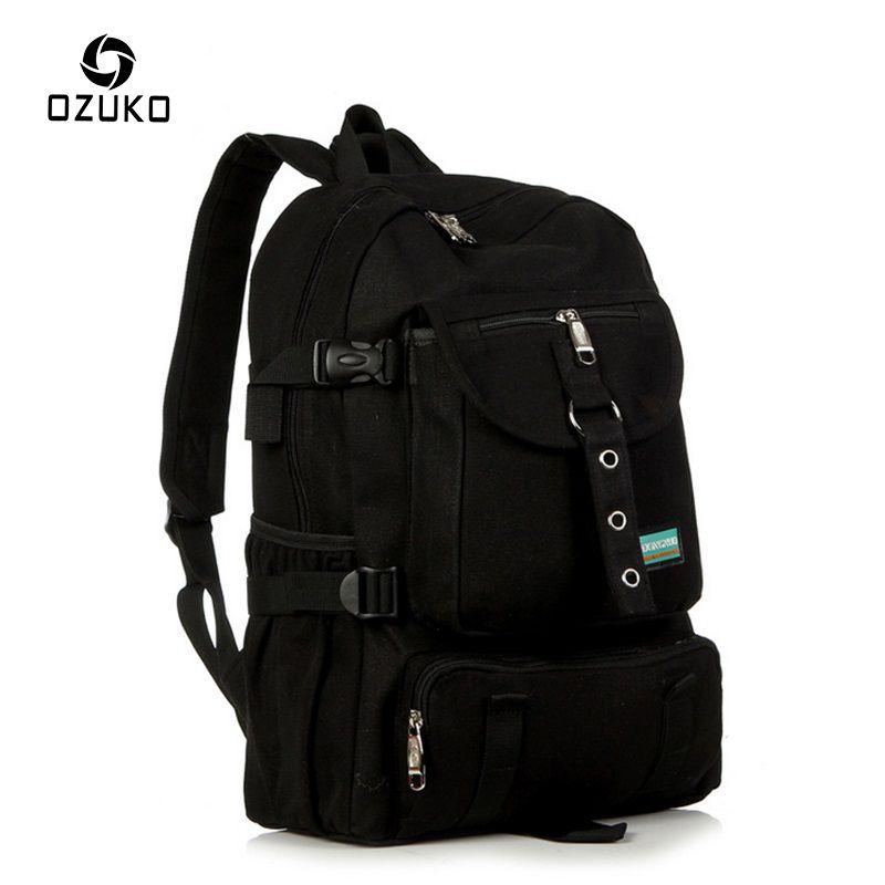 2017 ozuko моды мужской рюкзак Для мужчин рюкзак школьные сумки для подростков отдыха и путешествий Mochila ноутбука Рюкзаки