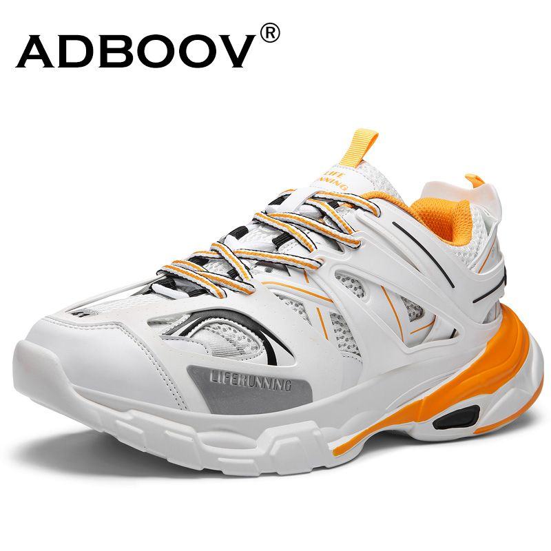 ADBOOV à la mode femmes baskets semelle épaisse dames plate-forme Chaussures Web célébrité Chunky papa baskets Chaussures Femme Buty Damskie