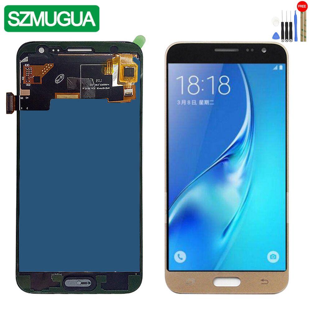 SZMUGUA SM-J320FN/F/M/H/DS For Samsung Galaxy J3 2016 J320 LCD Display + Touch Screen J320F J320FN J320H J320M Adjust brighness