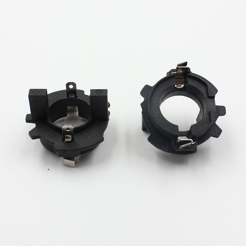 2 шт. H7 HID ксеноновая лампа адаптера держатель для VW Jetta/Гольф/LaVida/Touran H7 Ксеноновые лампа держателей базы адаптеры слуг