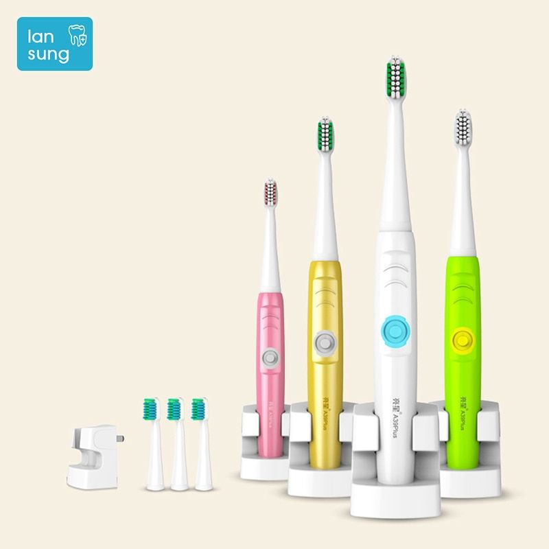 LANSUNG A39 PLUS electric toothbrush Oral Electric Toothbrush Rechargeable Sonic toothbrush electric tooth brush teeth 4