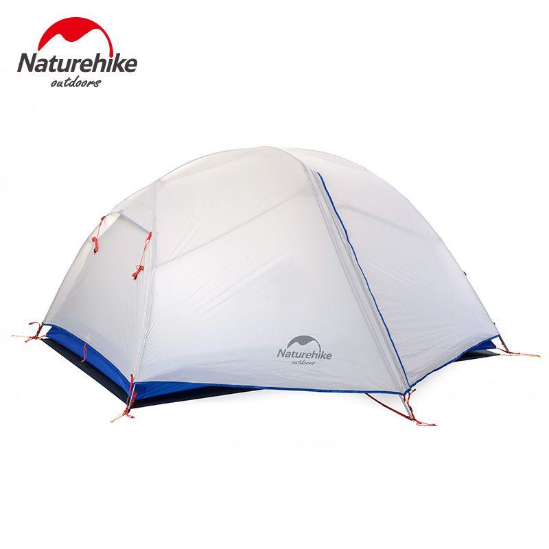 PUNKT BRECHEN NH17T006-L NH paro ultraleicht 20 d Silikon Anti Regen Doppel Camping Camping 2 Zelte Outdoor-liebhaber