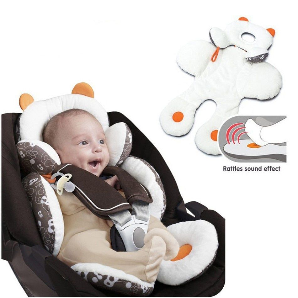 New Arrived Baby Infant Toddler Head Support Body support For Car <font><b>Seat</b></font> Cover Joggers Strollers Body Support Cushions YYT170