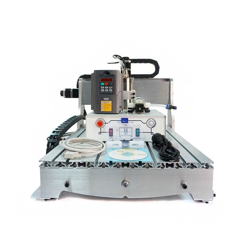 CNC wood carver 6040Z-D300 4axis 3D cnc engraving machine for woodworking