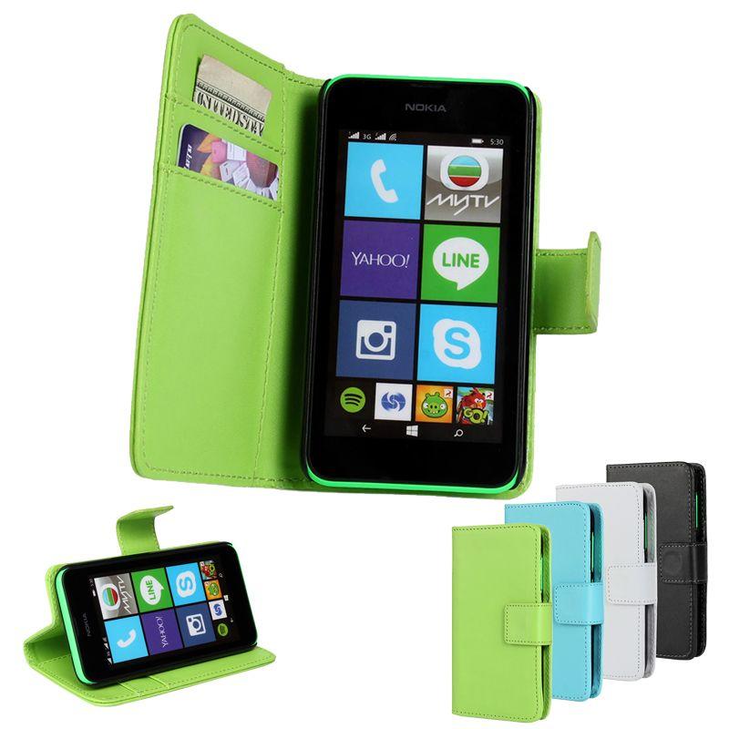 Für Nokia Lumia 530 520 Fall Fundas Leder Tasche Für Microsoft Lumia 1020 625 630 620 535 Fälle Abzudecken Coque Capinha Hoesjes Etui