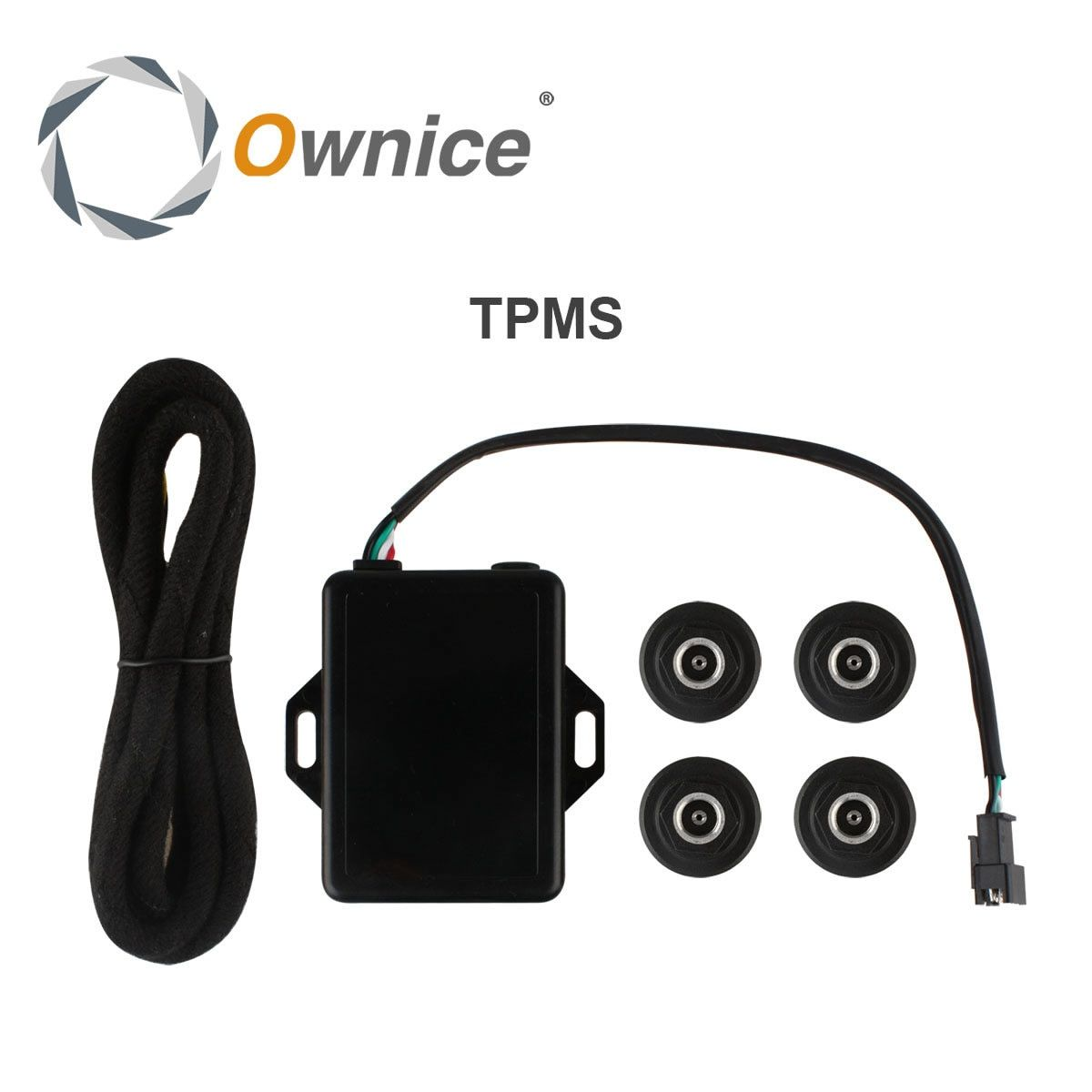 Special Car Tire Pressure System Only for ownice display the tempreature and pressure with high degree accuracy