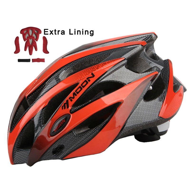 MOON Upgrade Model Cycling Helmet Ultralight Bicycle Helmet In-mold MTB Road Mountain Bike Helmet Casco Ciclismo