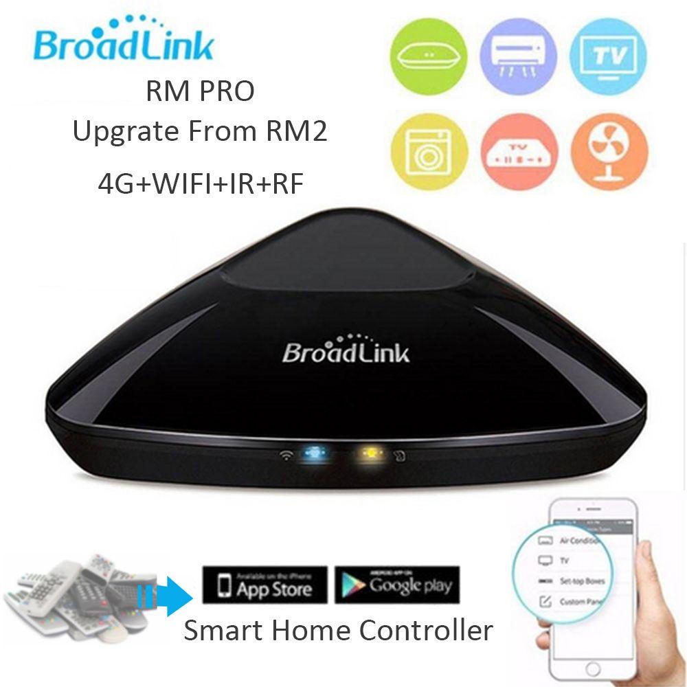 Broadlink Original Smart Home Automation RM Pro Controller Arbeit für Alexa Google Hause RF 433 MHz Drahtlose WiFi + IR + RF + 4G APP