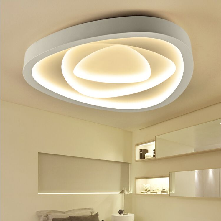 Creative Nordic geometry LED Ceiling Lamp modern dining/bedroom Iron Ceiling lights 110-240V