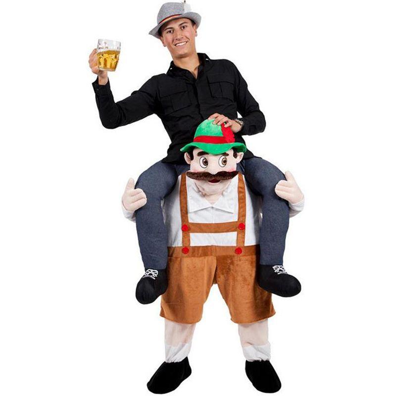 New Novelty Funny Cosplay Oktoberfest Fancy Pants Fancy Dress Up Party Costume Fantasia Adult Children Cute Mascot Costume