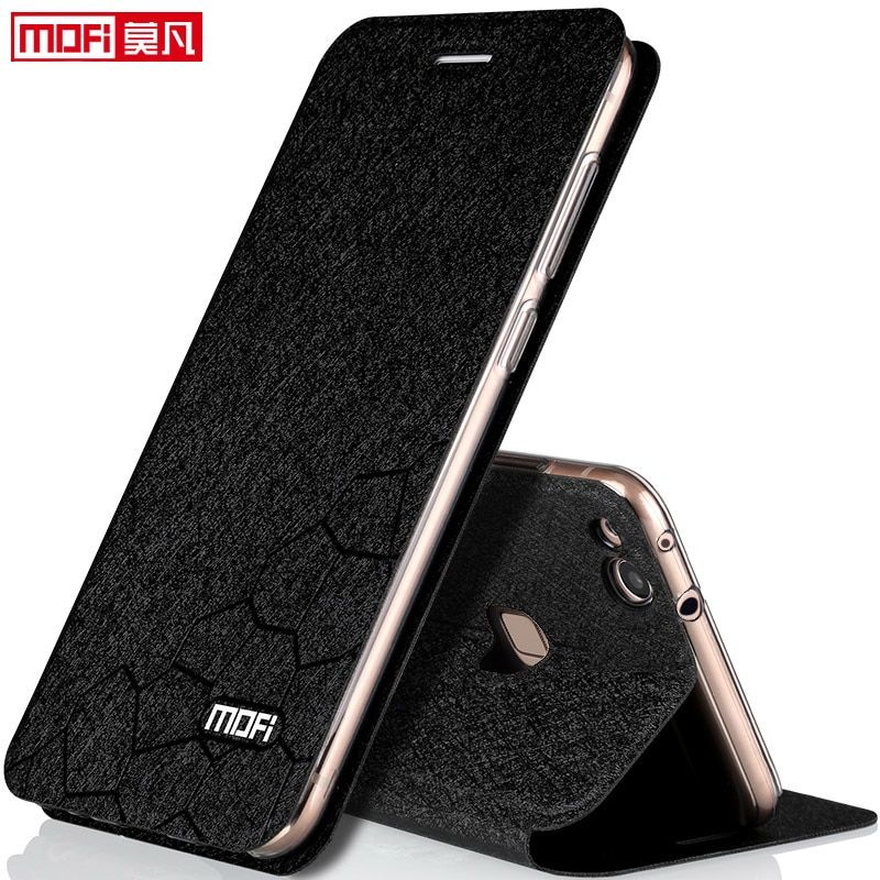 huawei p10 lite case cover flip luxury leather back silicon book funda protect transparent capa 5.2