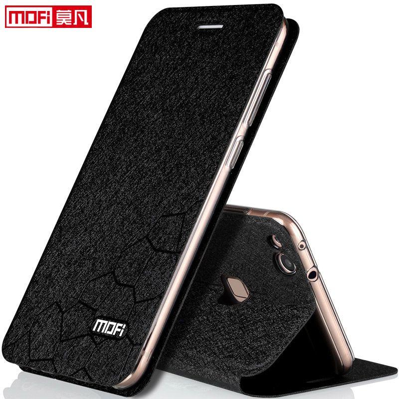 Huawei p10 étui housse allégé flip en cuir de luxe retour silicon livre funda protéger transparent capa 5.2