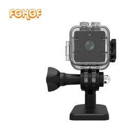 SQ12 Newest Full HD 1080P Mini DV DVR Camera Camcorder Waterproof Outdoor DV IR Night Vision Video recorder PK SQ 11 SQ12 SQ 8