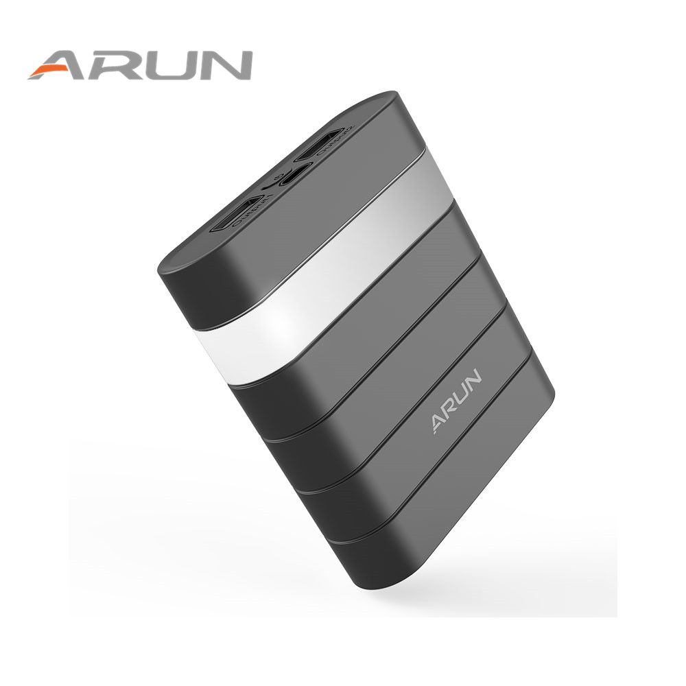 ARUN High Safety10000mah Power Bank Dual USB With USB Output 2.1A Backup Battery Packs For Samsung iPhone 6 6s for Xiaomi Huawei