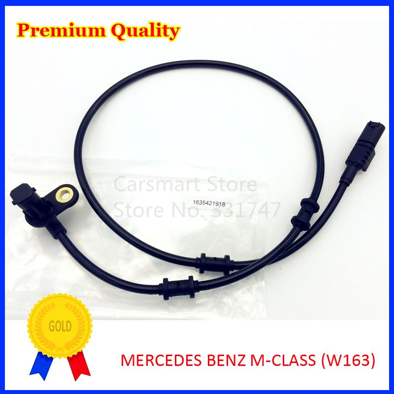 ABS Wheel Speed Sensor Front Right for MERCEDES BENZ M-CLASS W163 1998-2005 163 542 19 18 1635421918
