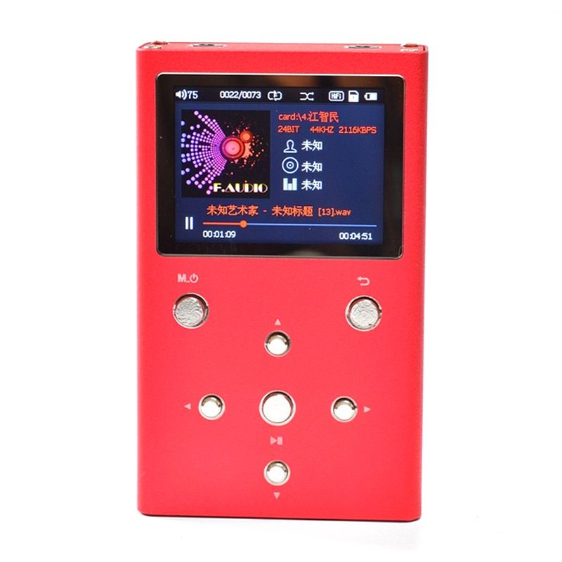 F.Audio XS02 HiFi Lossless Music Player With Dual AK4490EQ With TPA6120A2 PCM&DSD Digital Audio Player DAP MP3 Player With 32GB