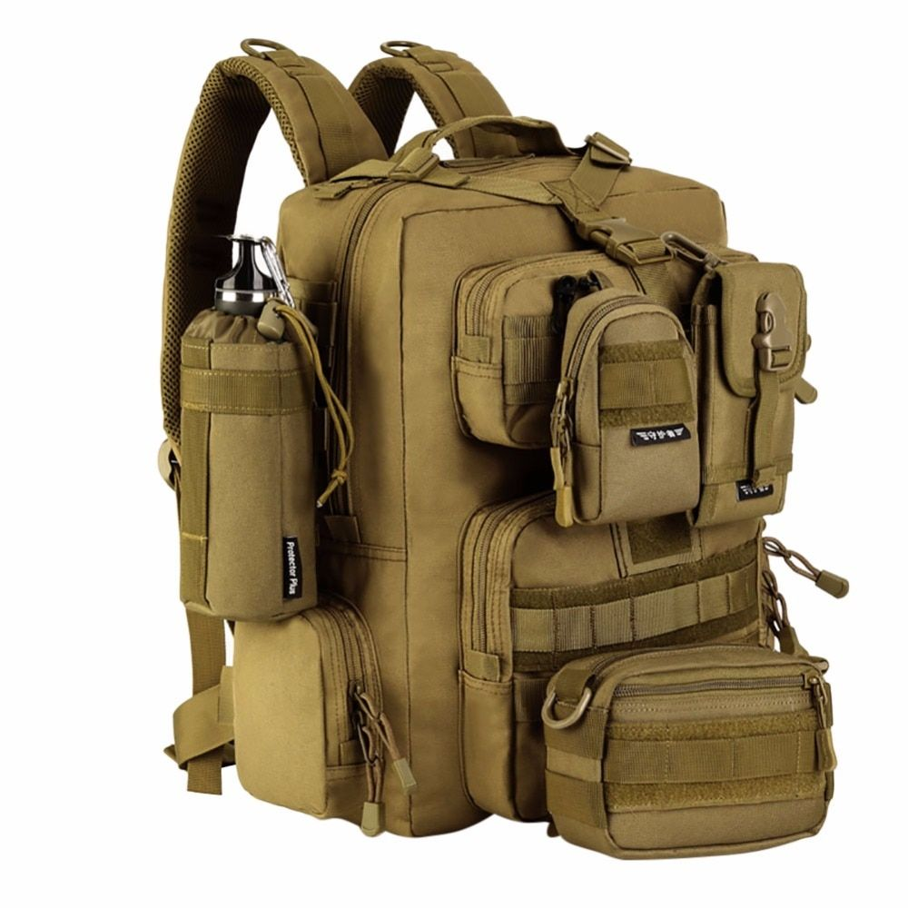 Military Tactical Bag Assault Backpack Army Molle Waterproof Bug Out Bags Backpack Small Rucksack for Outdoor Hiking Camping New
