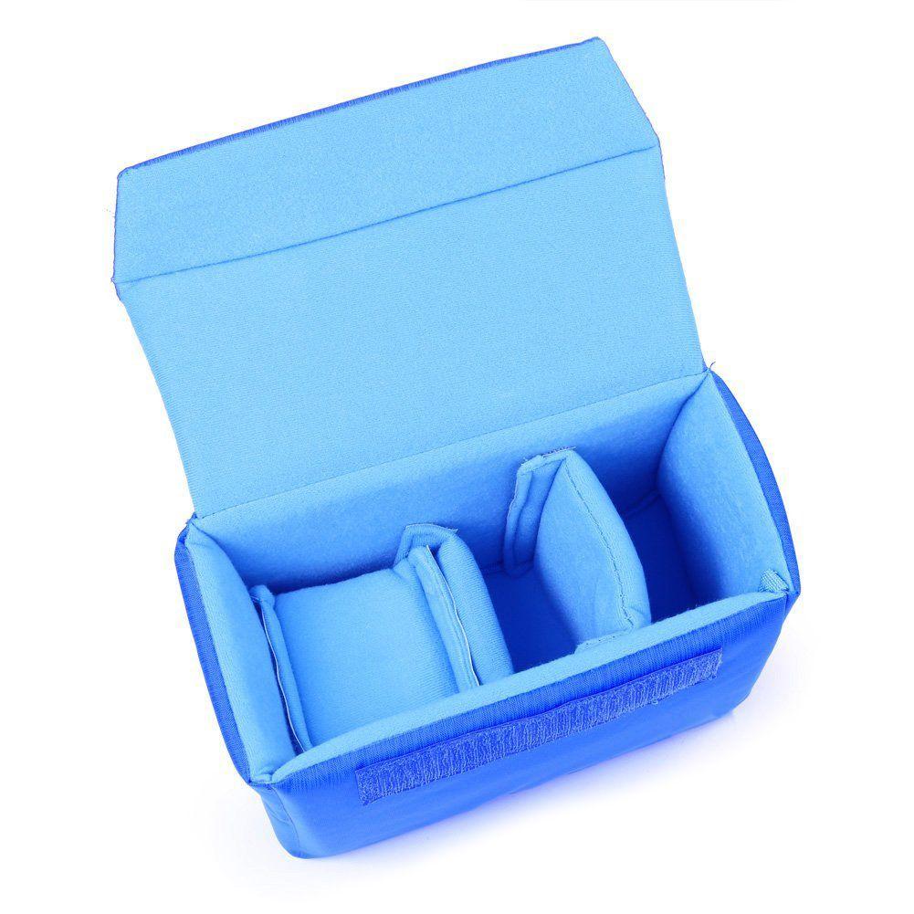 Professional Shockproof DSLR SLR Camera Bag Partition Padded Camera Insert, Make Your Own Camera Bag Blue