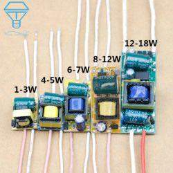 LED Driver 300mA 1W 3W 5W 7W 10W 12W 18W 20W 25W 30W 36W For LED Power Supply Unit AC90-265V Lighting Transformers For LED Bulb