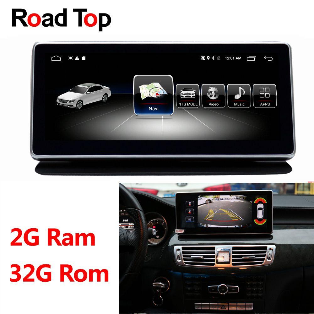 Android 8.1 Octa 8-Core RAM 2G + 32G Auto Radio GPS Navigation WiFi Bluetooth Kopf Einheit Bildschirm für Mercedes Benz CLS W218 2010-2014