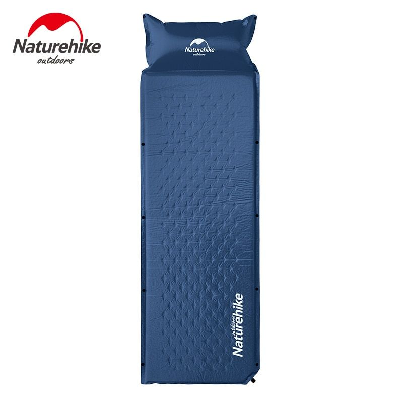 NatureHike Camping Mat 1 Person Automatic Self-Inflating Inflatable Cushion Moistureproof Tent Mat Splicing Air mattresses