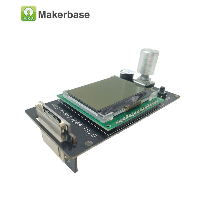 3d printer <font><b>Reprap</b></font> LCD MKS MINI12864LCD mini 12864 smart display Reprapdiscount controller Full Graphic for mother board