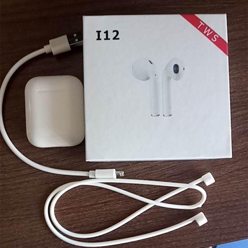 2019 Original i12 air TWS mini Wireless Bluetooth 5.0 3D bass ear phone for all cell pk i10 i13 i18 i20 XY pods i16 i15 i14 tws