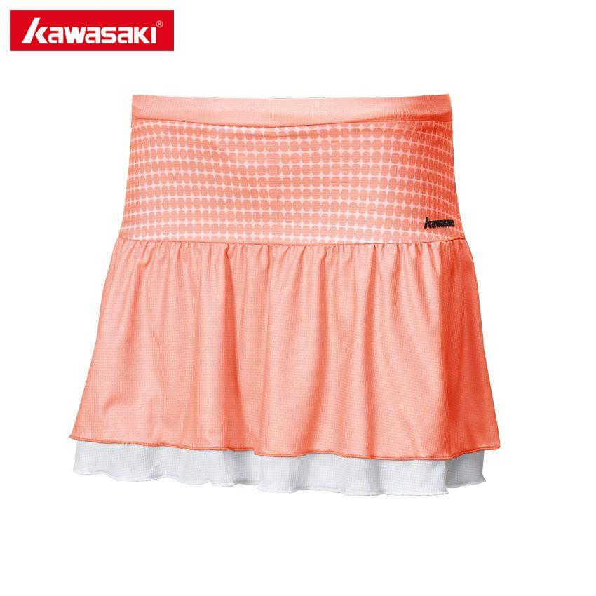 Kawasaki D'été Dames Sport Jupe Table De Tennis Jupes Polyester Respirant Badminton Fonctionnement Shorts Jupe Femmes SK-172705