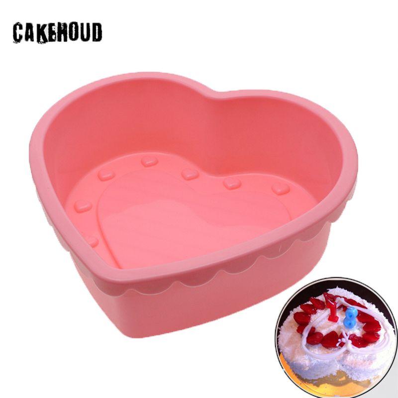 CAKEHOUD Nouveau Chocolat Silicone Moule 3D Fondant Chocolat Pudding de Gelée De Sucrerie De Moule Gâteau Décoration Outils De Cuisson