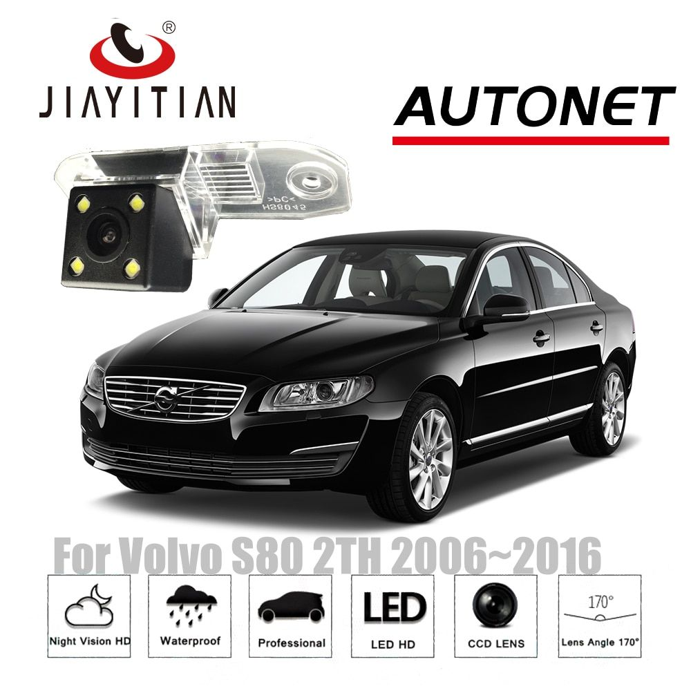 JIAYITIAN Rear View Camera For Volvo S80 II S80L mk2 2006~2016 CCD Night Vision Reverse camera Backup Camera Parking Assistance