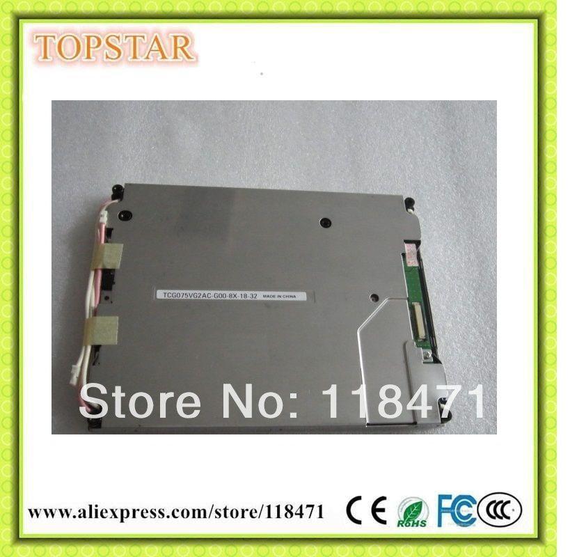 7,5 Zoll TFT LCD Panel TCG075VG2AC-G00 640 RGB * 480 VGA Parallel RGB LCD Display 1ch, 6-bit