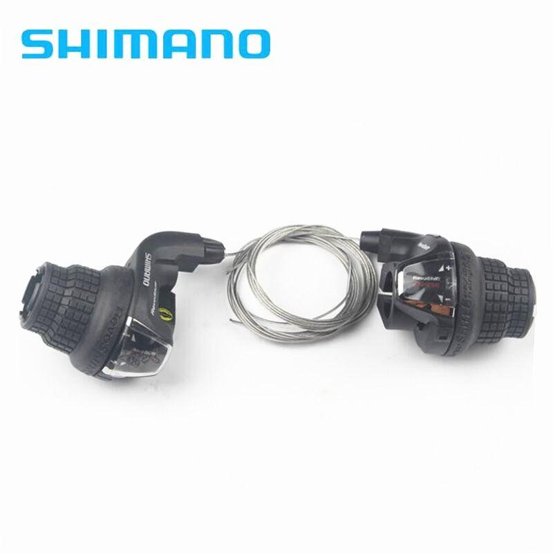 shimano SL-RS35 3x6S 3x7 18Speed 21s MTB Bicycle Bike Shifter Twist Shifter Brake Lever /Shifter Combo Set