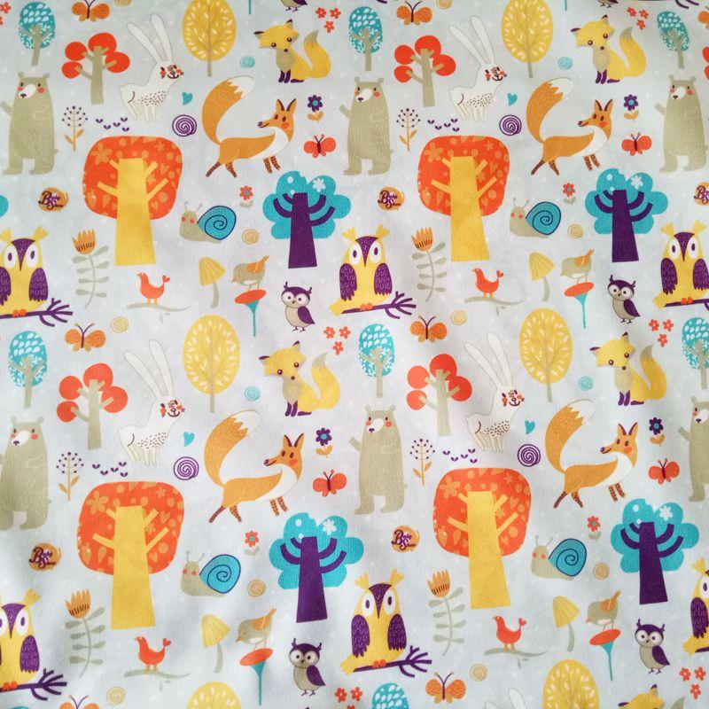 Цифровой печати пул для ткани детские пеленки, подгузники, дышащий подгузник материала с водонепроницаемой ТПУ покрытие