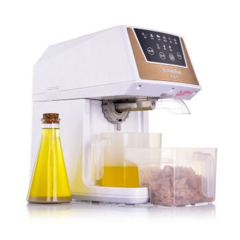 Stainless Steel Home Kitchen Extractor Full Automatic Oil Presser 50% High Pressing Rate Mute Cold Hot Oil Making Machine