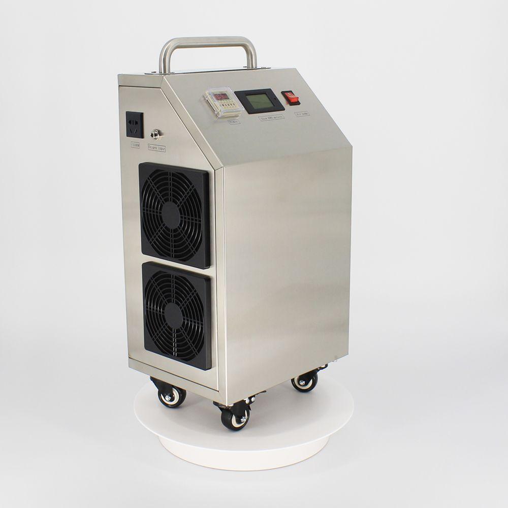 Pinuslongaeva CE EMC LVD FCC Fabrik outlet 5 10 20 30 gr/std 30 gramm Beweglichen tragbare ozon generator luft wasser desinfektion maschine